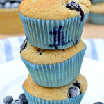 Gluten Free Blueberry Cheesecake Muffins