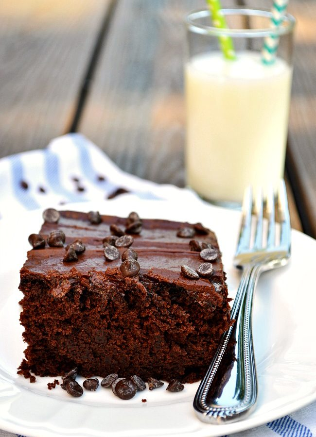 Hip hip hooray for this perfectly fudgy, perfectly moist, perfectly rich Gluten Free Perfect Chocolate Cake!